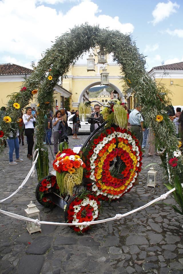 Festival de las Flores en Antigua Guatemala