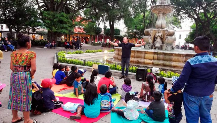 Festival internacional de cuentos en Antigua Guatemala   Noviembre 2019