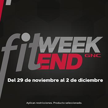 FitWeekend en GNC Guatemala Noviembre - Diciembre 2019