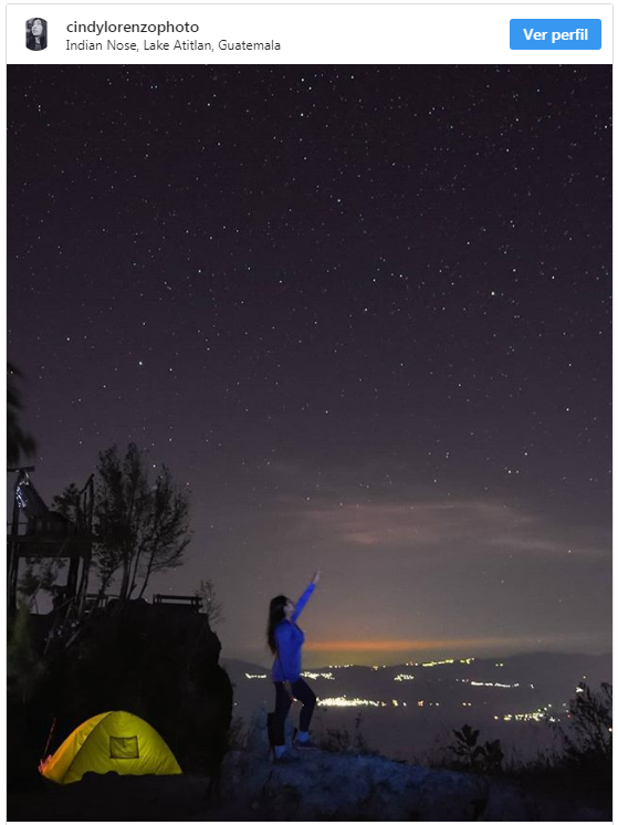 Foto del mirador del Rostro Maya fue compartida por BBC Mundo