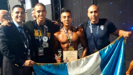 Guatemala con oro y plata en el World Bodybuilding Championship 2019