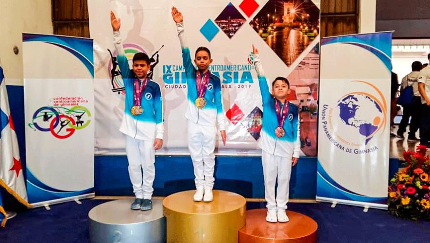 Guatemala dominó con 75 medallas el IX Campeonato Centroamericano de Artística 2019