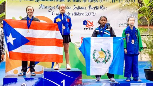 Guatemala obtuvo 2 medallas en el Campeonato Latinoamericano U-11 y U-13 2019