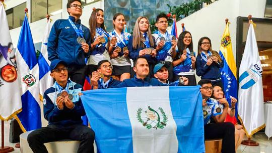 Guatemala se llevó 16 medallas del Concecabol Juvenil 2019