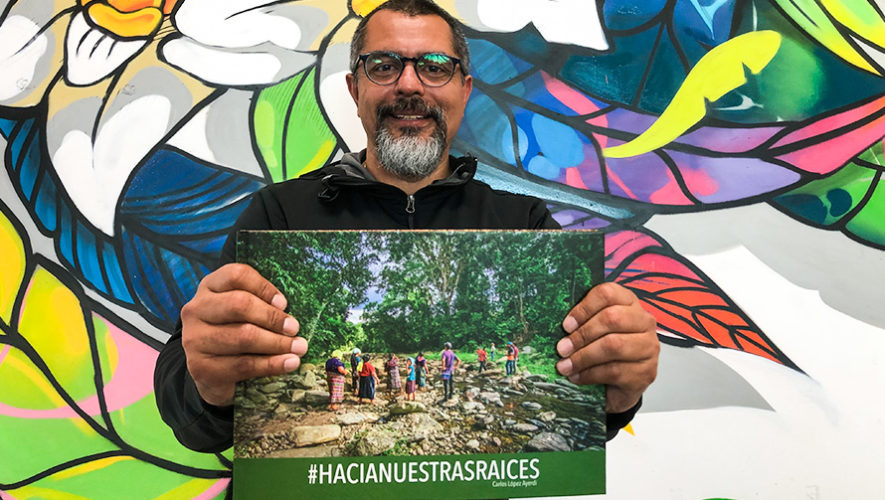 Raíces El primer libro fotográfico de Carlos López Ayerdi