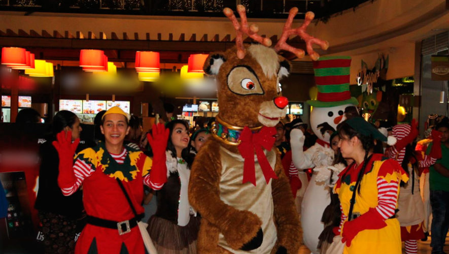 Inauguración de la temporada navideña en Naranjo Mall | Noviembre 2019