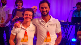 Jason Hess y Katya Castellanos entre los 8 mejores del XXII Mundial de Hobie 16 2019