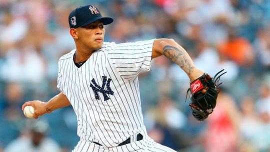 Jonathan Loáisiga, pitcher de Los Yankees, visitará Guatemala