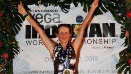 Lorena Toriello fue la mejor latinoamericana del Campeonato Mundial Ironman 2019