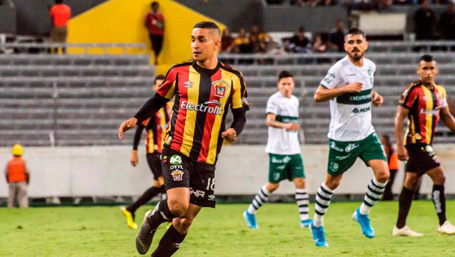 Marvin Ceballos marcó el gol de la victoria de Leones Negros contra Cimarrones