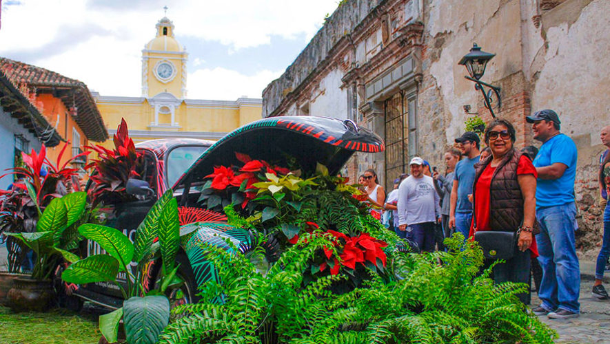 Noviembre es declarado como el Mes de las Flores en Antigua Guatemala