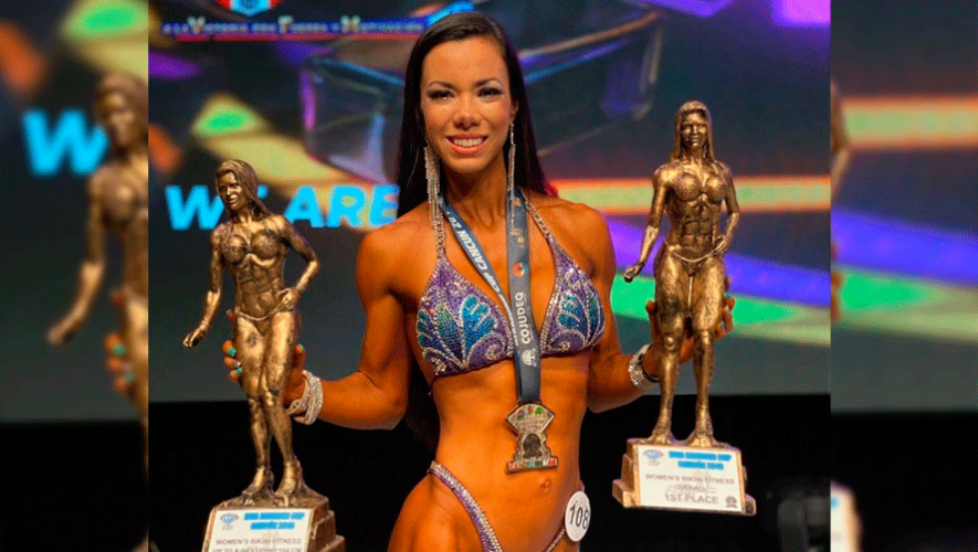 Pamela Sosa obtuvo el primer lugar de la IFBB Diamond Cup Cancun 2019