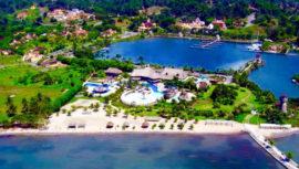 Playas en el Océano Atlántico en Guatemala