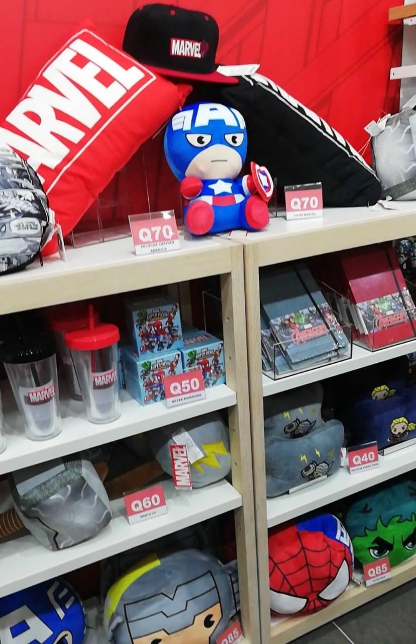 Primera tienda de productos exclusivos de Marvel x Miniso en Guatemala