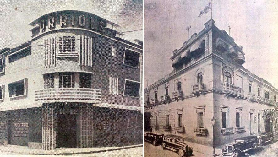 Proyección de fotos antiguas y casas históricas en Guatemala | Noviembre 2019