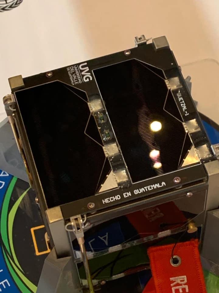 Quetzal 1 Primer satélite guatemalteco que será lanzado al espacio en marzo de 2020
