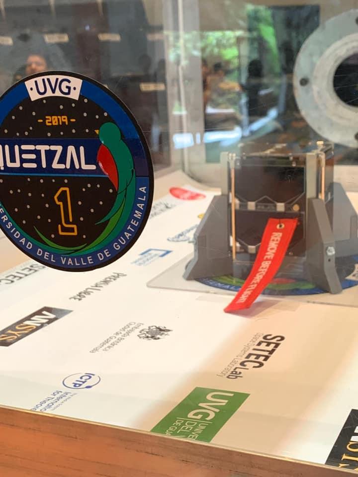 Quetzal 1 Primer satélite guatemalteco que será lanzado al espacio