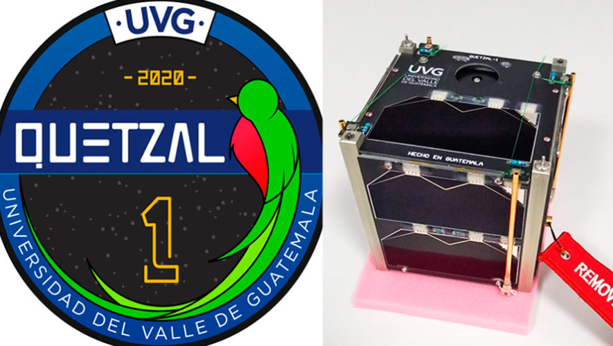 Quetzal 1 Primer satélite guatemalteco será lanzado al espacio en marzo de 2020