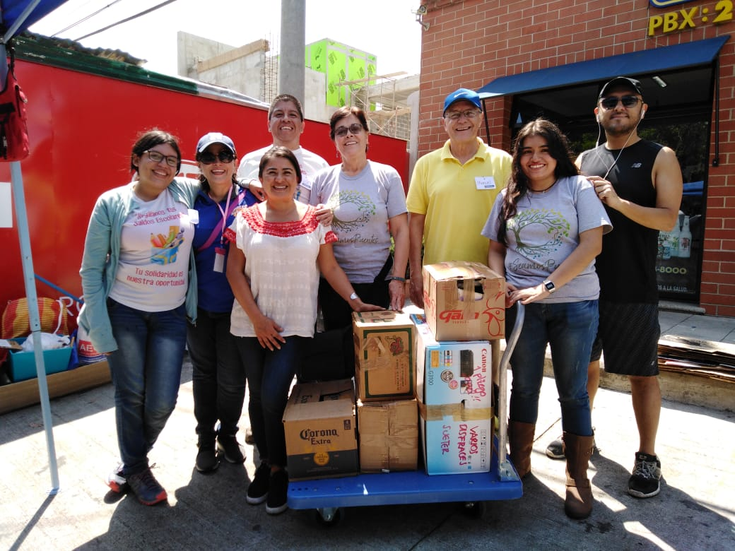 Recaudación de útiles escolares para niños de escasos recursos de Baja Verapaz