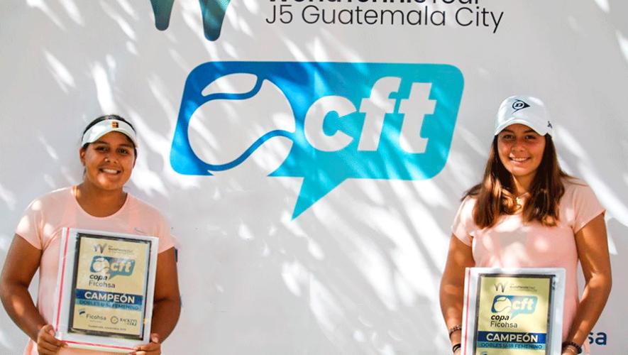 Rut Galindo y Mariajosé Hernández, campeonas del Torneo J5 Guatemala City 2019