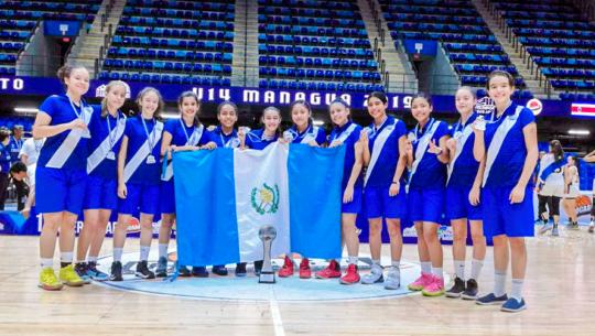 Selección femenina se quedó con la plata del Campeonato Centroamericano COCABA U-14 2019