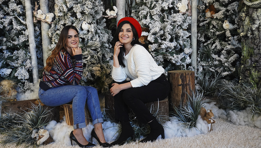 Sesión de fotografías navideñas en Oakland Mall Noviembre- Diciembre 2019