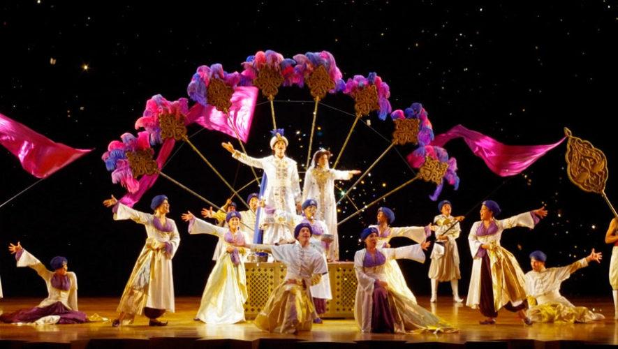 Show musical de Aladdin en la Ciudad de Guatemala | Noviembre 2019