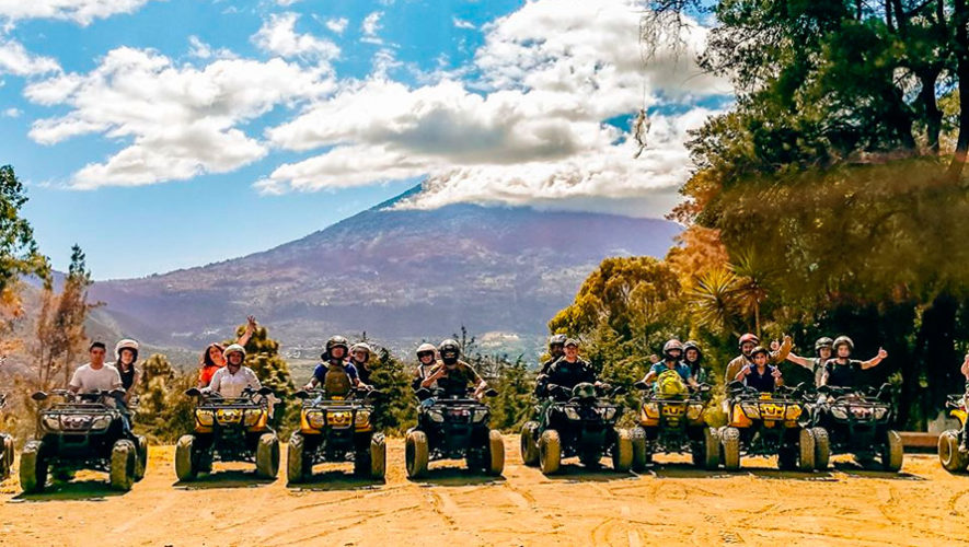 Tour en cuatrimoto por los miradores de Antigua Guatemala   Noviembre - Diciembre 2019