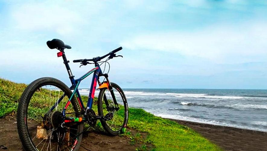 Travesía en bicicleta a la playa El Paredón, Escuintla | Diciembre 2019