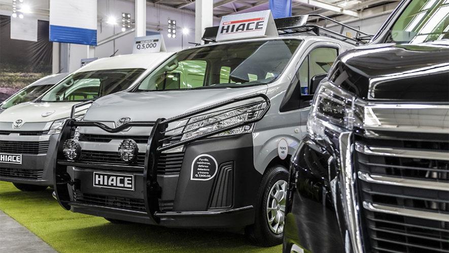 Vehículos Toyota a precios especiales en Autoferia en Guatemala | Noviembre 2019