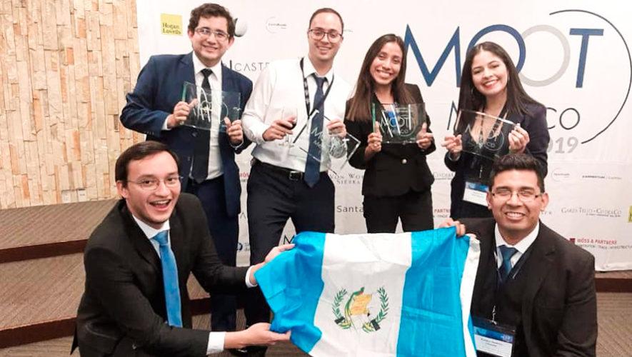 guatemaltecos ganaron segundo lugar en el Moot México 2019