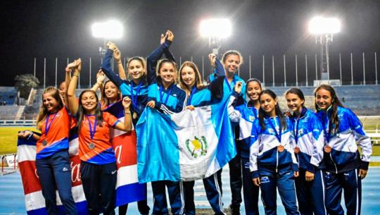 6 récords y 28 medallas para Guatemala en el Campeonato Centroamericano U-14 y U-16 2019