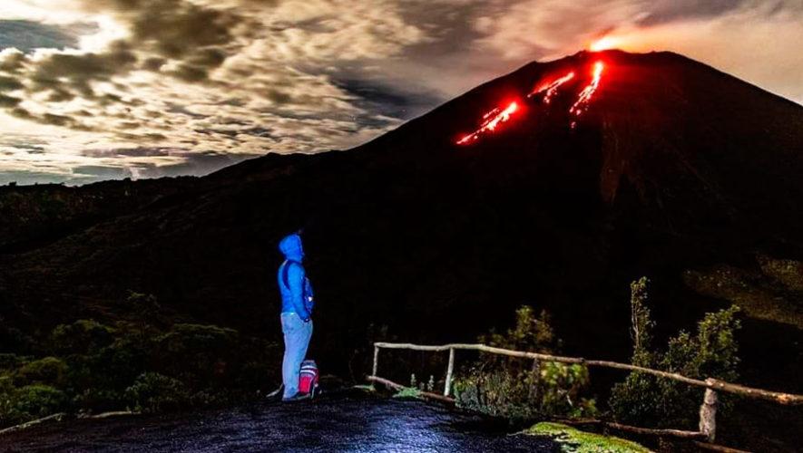 Ascenso al Volcán de Pacaya en Año Nuevo | Enero 2020