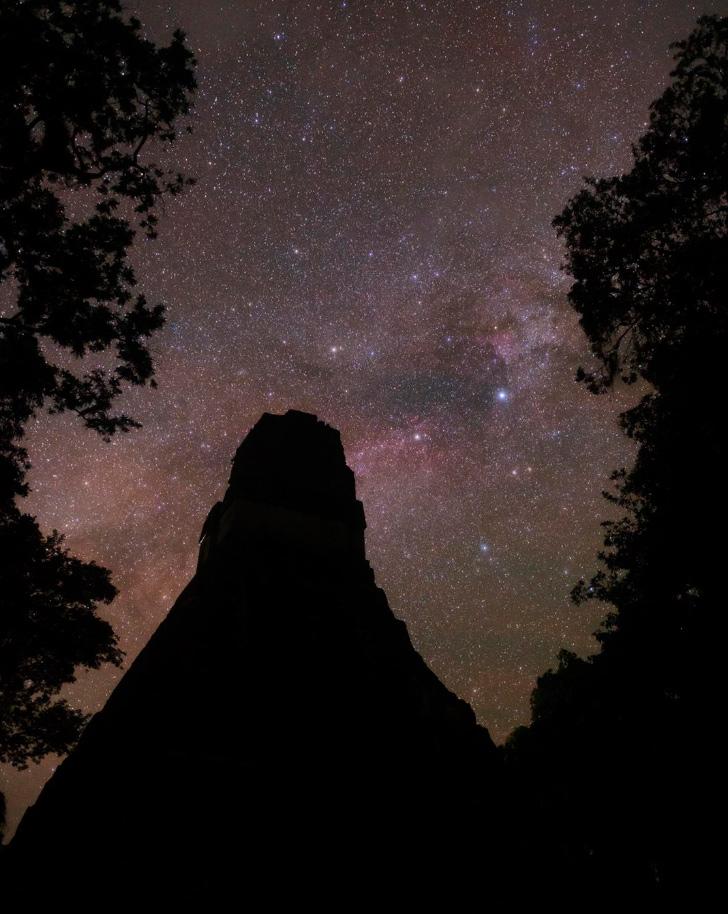Astrofotos de Tikal en Nat Geo 2019
