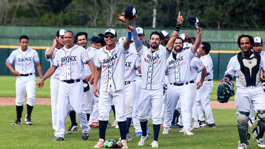 Bronx, campeón de la Liga de Béisbol Invernal de Guatemala 2019