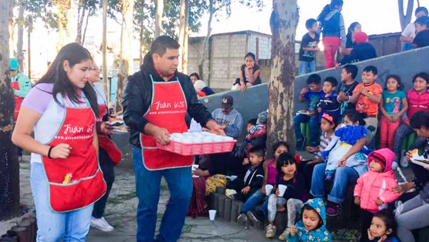 Buscan voluntarios para entregar cenas de Navidad a familias de escasos recursos en 2019
