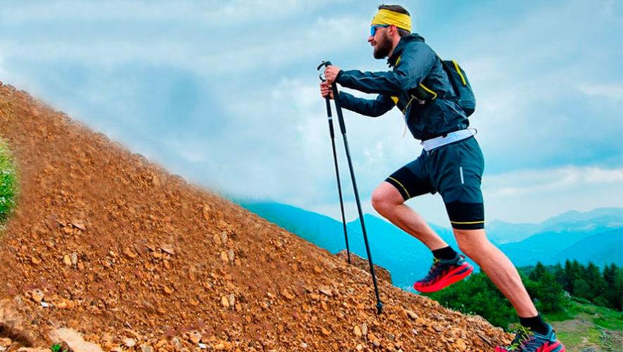 Carrera escalando el Volcán Acatenango | Enero 2020