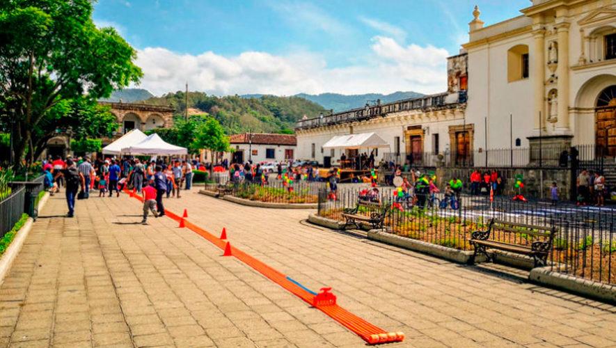 Carreras de Hot Wheels y pista gigante en Antigua Guatemala | Diciembre 2019
