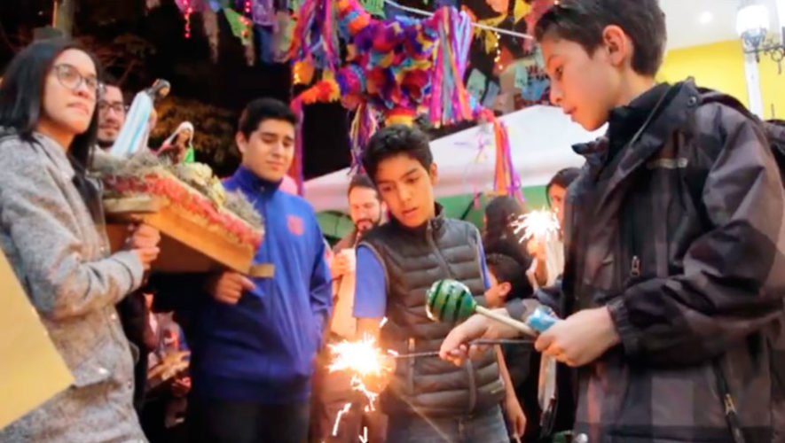 Celebración de posada mexicana en Zona 9 | Diciembre 2019