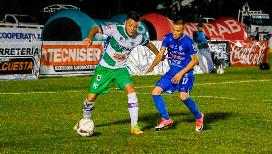 Fecha y hora de la semifinal Antigua vs. Cobán, Torneo Apertura 2019