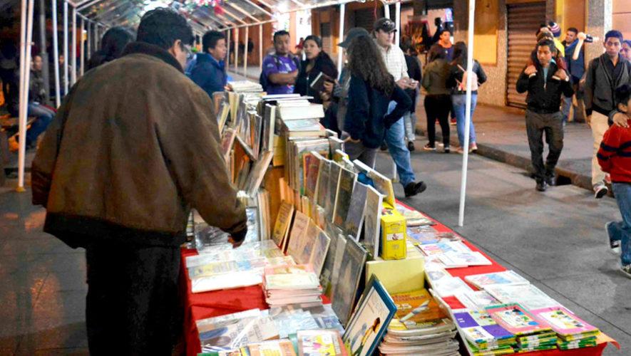 Feria navideña del libro en el Paseo de la Sexta | Diciembre 2019