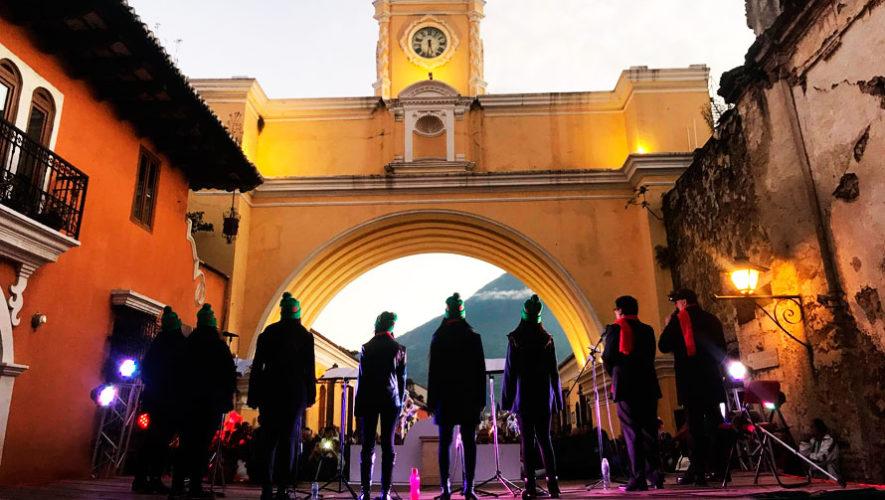 Festival cultural en la Calle del Arco de Antigua Guatemala | Diciembre 2019