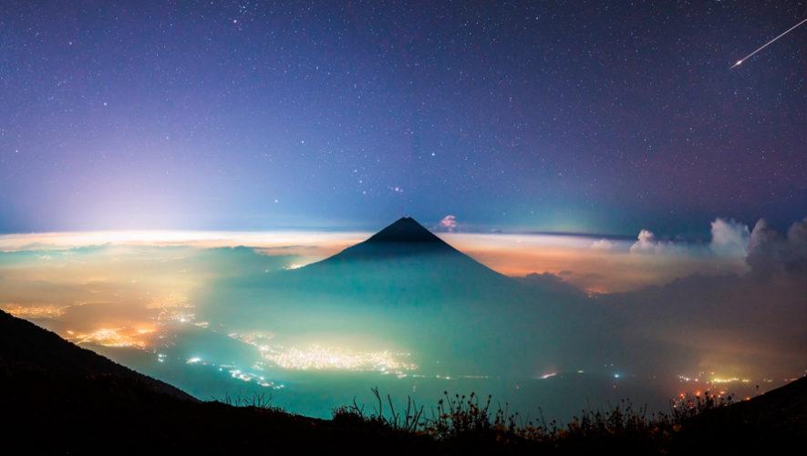 Fotos del meteoro de unicornio que se observó en el cielo guatemalteco en noviembre 2019