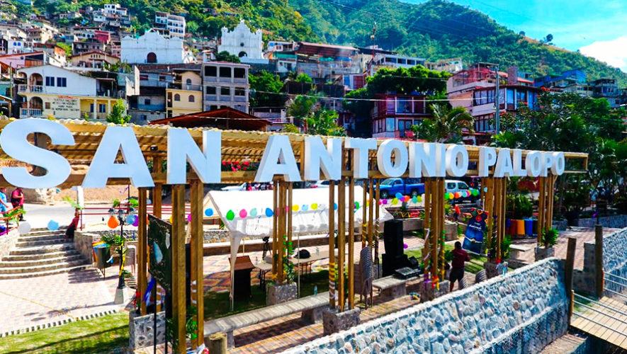 Fotos del nuevo malecón turístico en San Antonio Palopó, Sololá