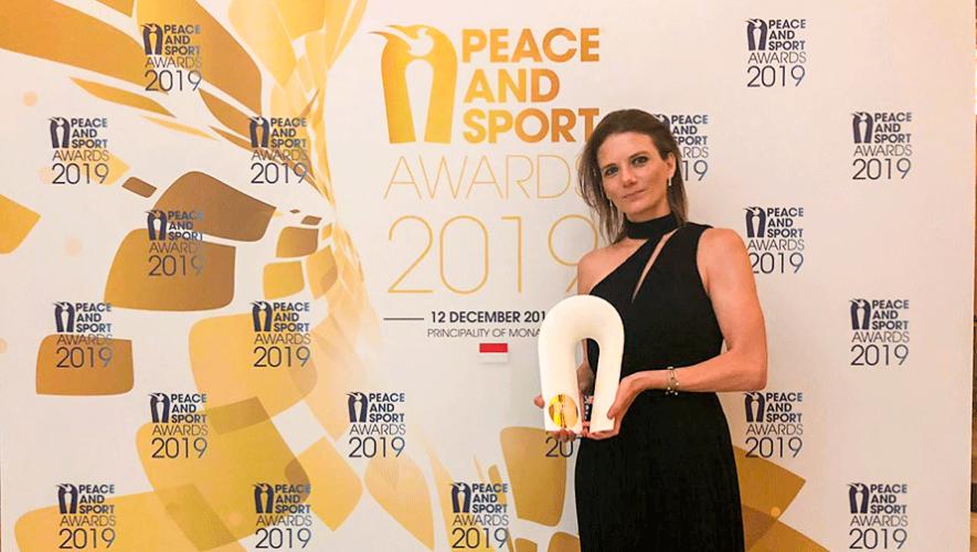 Fundación Olímpica Guatemalteca ganó galardón en los Premios Peace And Sport 2019