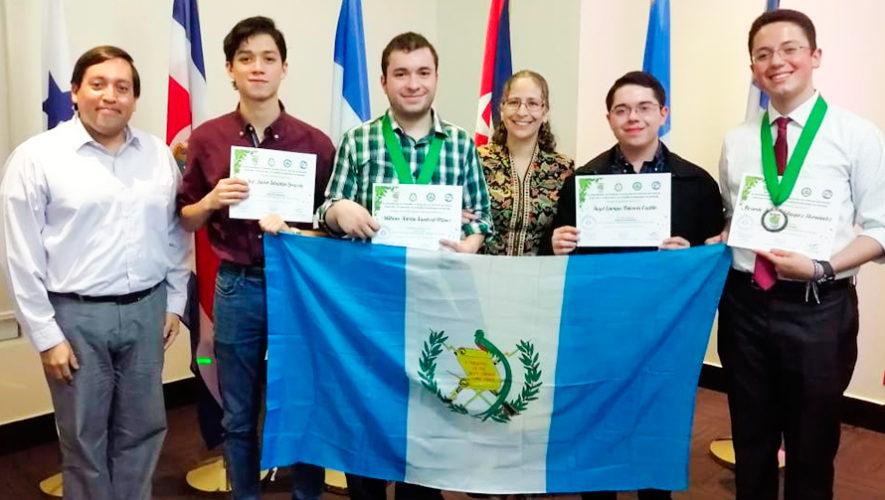 Guatemaltecos ganaron medallas de bronce en Olimpiada de Biología 2019 en Panamá