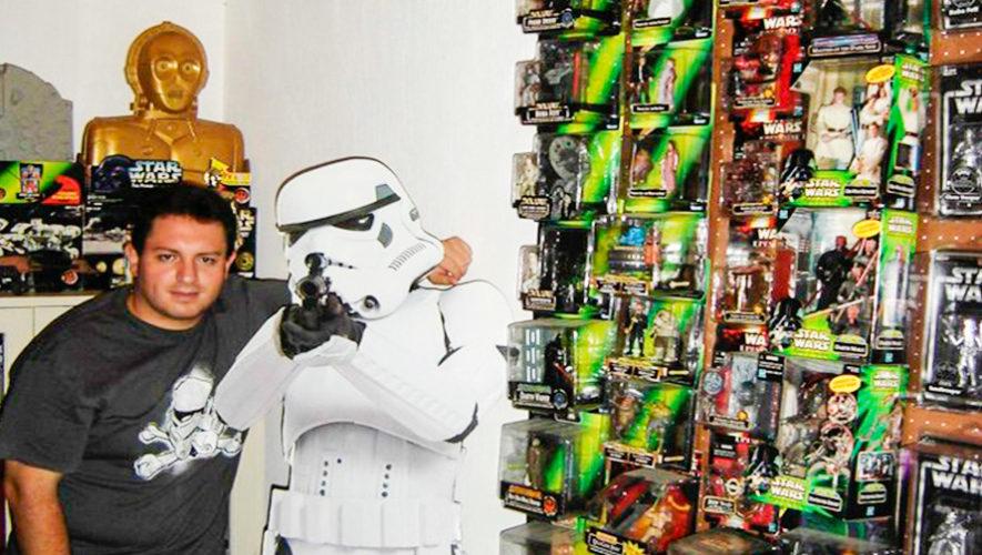 Los guatemaltecos que tienen las colecciones más grandes de Star Wars en el país