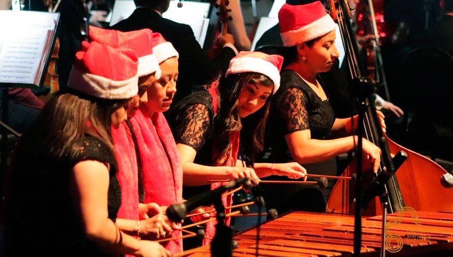 Luz en Navidad, concierto navideño de la Orquesta Sinfónica Nacional