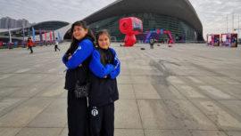 Niñas guatemaltecas viajaron a China para Campeonato Mundial de Robótica