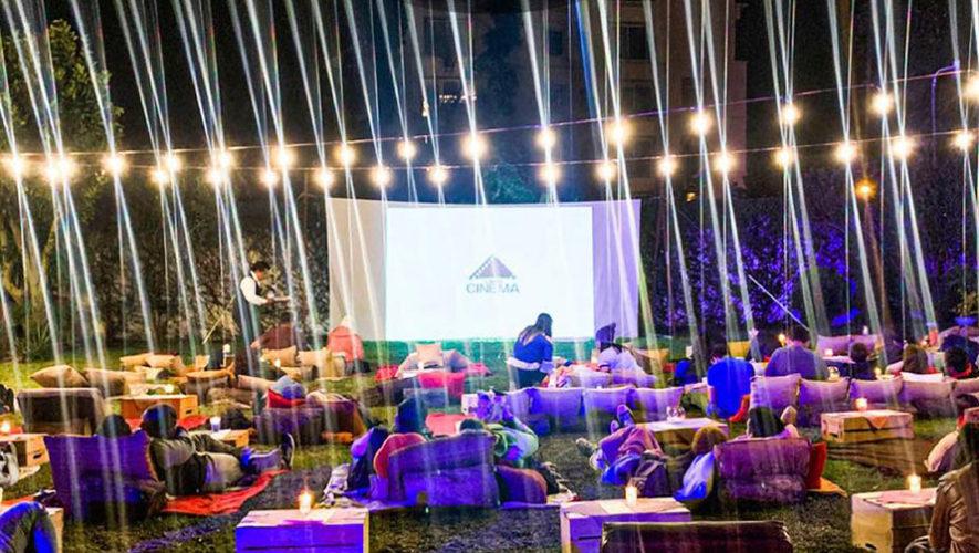 Noche de cine al aire libre en Ciudad de Guatemala | Diciembre 2019